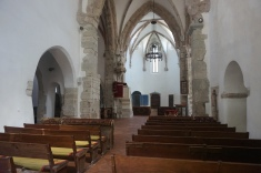 The Lutheran Church in Prejmer, Tartlau, Interior