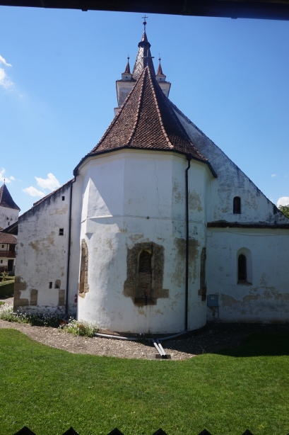 The Lutheran Church of Honigberg, back view