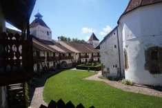The Walls of the fortified Church