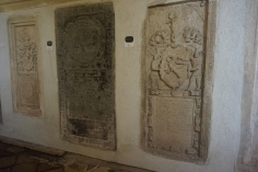 Tomb Plates in Saint Mary Lutheran Church of Sibiu (Hermannstadt)