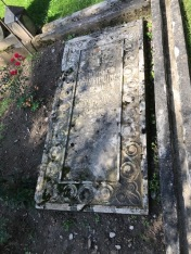 Tomb stone of 1923