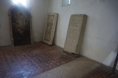 Tomb Stones in Lutheran Church of Prejmer, Tartlau
