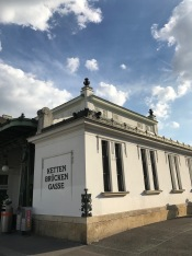 Train Station built by Otto Wagner in 1899