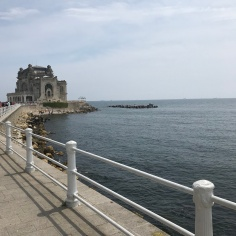 View of Constanta Casino from the promenade