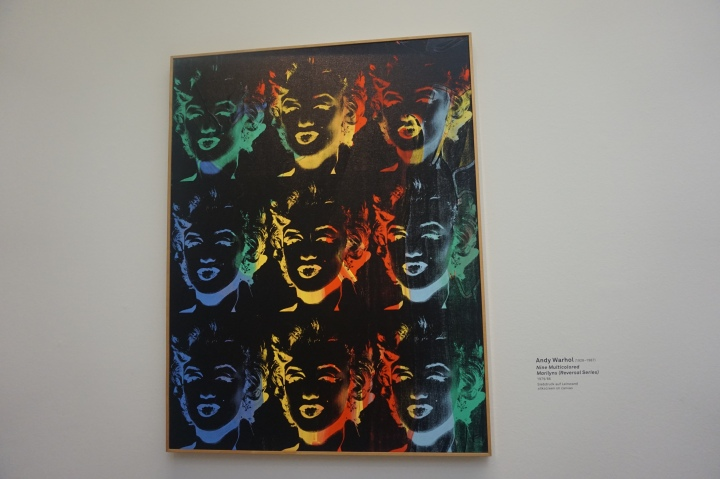 Andy Warhol, Nine Multicolored Marilyns (Reversal Series), 1979-1986