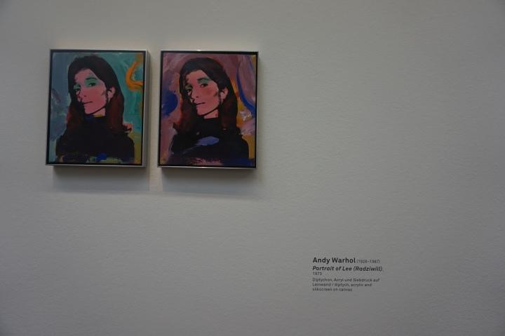 Andy Warhol, Portrait of Lee Radziwill, 1973
