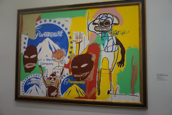 Any Wrahol & J.M.Basquiat, Collaboration (Paramount), 1984, 1985