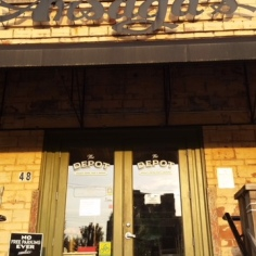 Arsaga`s at the Depot, one of Fayetteville`s most popular coffee shops