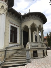 Entrance of O.D.Iorgulescu House