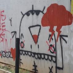 Grafitti, Street Art, Fayetteville, Arkansas