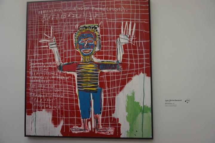 J.M.Basquiat, Red Savoy, 1983