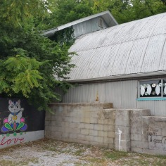 Mural at the art gallery `Out of Hands Artists Collective` Fayetteville, Arkansas