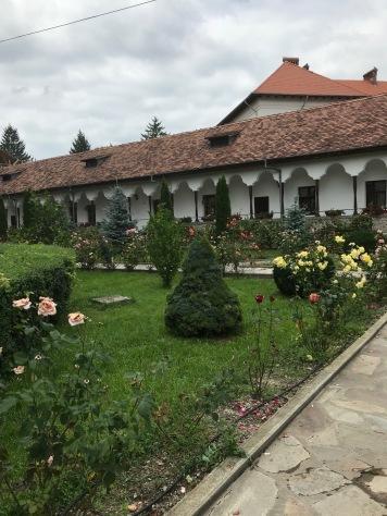 Negru-Vodă Monk Monastery, interior detail