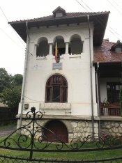 Neo-Romanian Style of Building that Hosts the Local Council of Dragoslavele Village