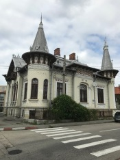 O.D.Iorgulescu House, Câmpulung, end of 19th century:beginning of 20th century French architecture, in other words, a perfect example of Art-Nouveau Style of House