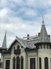 O.D.Iorgulescu house, roof detail