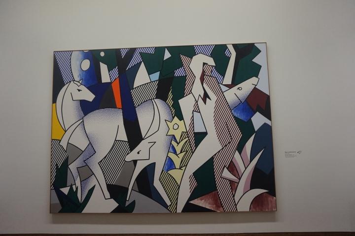 Roy Lichtenstein, Forest Scene, 1980