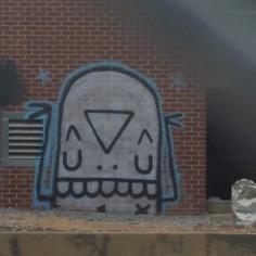 Street Art, Fayetteville, Arkansas, USA