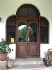The Entrance Door of Ștefan Golescu Villa