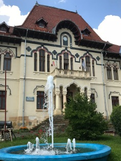 The ex-Mayor House of Câmpulung, the so-called Neo-Romanian style, it was built by Constantin N. Simionescu in 1907