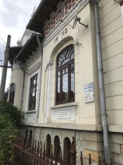 The Iorgulescu house, side view