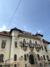 This Building located on Negru-Vodă Street in Câmpulung used to host the prefecture; now it host the Town Hall