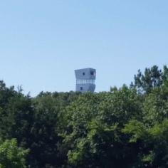 Towerhouse built by Marlon Blackwell