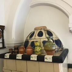 Transylvanian pots, detail