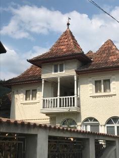 Vernacular Style of Balcony, house in Rucăr village