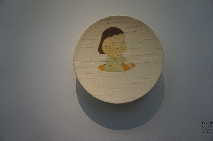 Yoshitomo Nara, Little Thinker, 2002