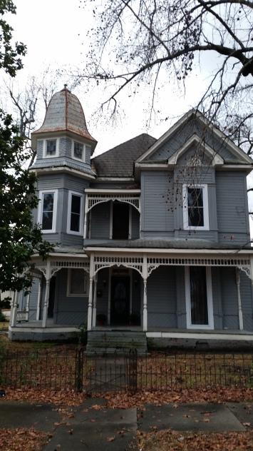 historical mansion, pine bluff, arkansas