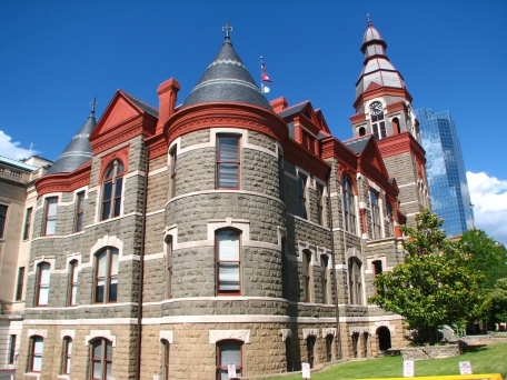 old courthouse, little rock, arkansas, back view