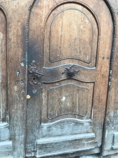 Metal door handle, Sibiu, Romania