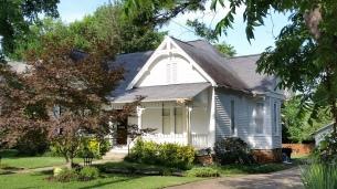Central European (Vernacular) Style of Roof, Washington Willow Street, Fayetteville, NW Arkansas