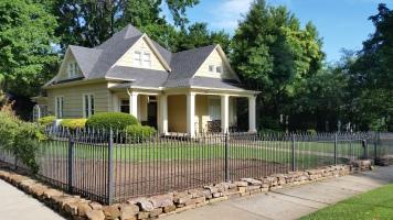 Geometric Play of Roof, Washington Willow Street House, Fayetteville, NW Arkansas
