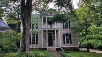 Imposing Wood House on Washington Willow Street, Fayetteville, NW Arkansas