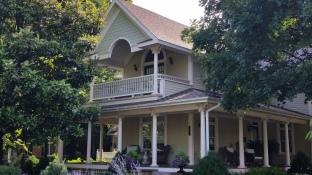 Neo-Classic Porch, Washington Willow Street, Fayetteville, NW Arkansas