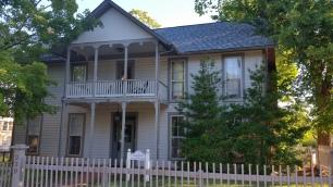 Sarah Ridge House, 1839, Old Town, Fayetteville, NW Arkansas