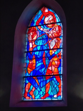 Stained Glass of Lydia Roppolt, part of the cycle: Praise of God through the beauty of his creation