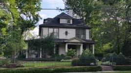 Washington Willow Street House, Historical District, Fayetteville, NW Arkansas