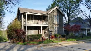 Wood Porch and Vernacular Influences