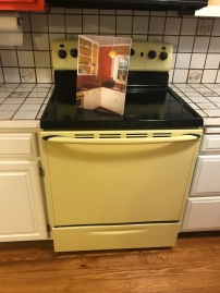 Cooker of the time and a pic of the original kitchen