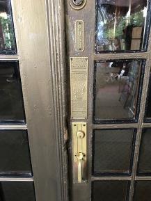 Crescent Hotel entrance door