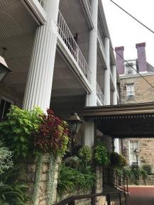 Crescent Hotel, Entrance, Eureka Springs, Arkansas