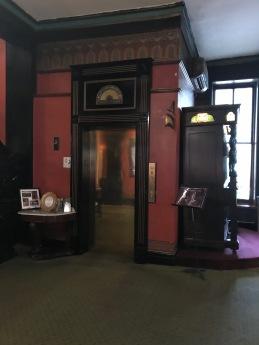 Crescent Hotel, Eureka Springs, AR, Elevator door