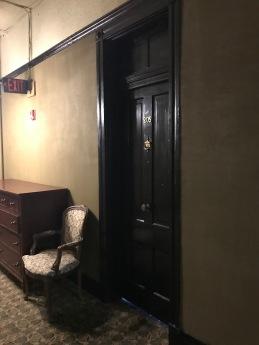 Crescent Hotel Eureka Springs, AR, old English style door knob
