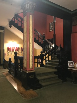 Crescent Hotel, Eureka Springs, AR, stairs