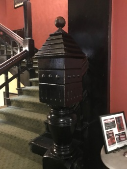 Crescent Hotel, Eureka Springs, AR, stairs, detail