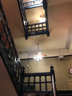 Crescent Hotel, Eureka Springs, the Fan Lamps, a Southern American tradition