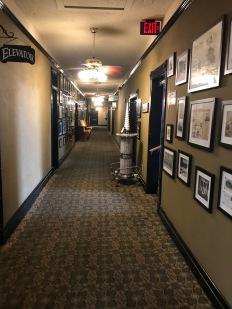 Crescent Hotel, Last Floor passageway